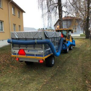 Lövsugsvagnar 600-6000 kg